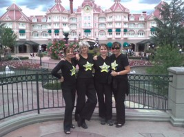 rock choir euro disney